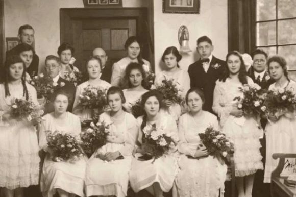 group confirmation photo from early 20th century